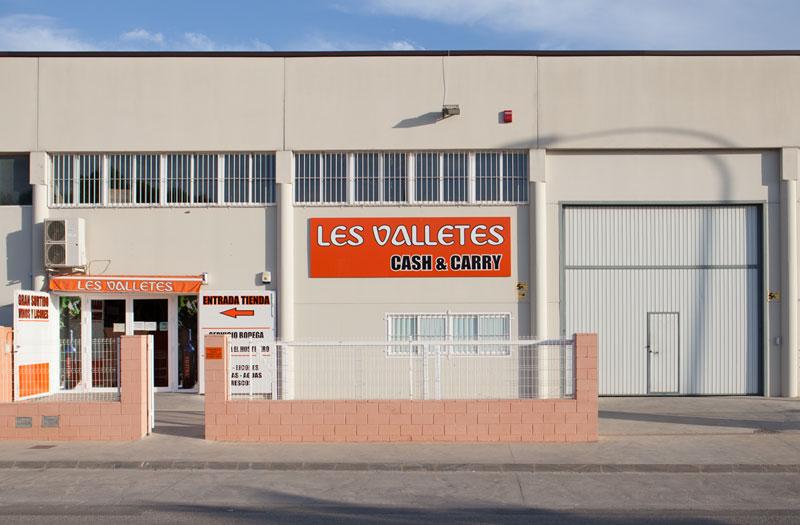Cash Les Valletes, teléfono, dirección y contacto